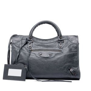 Balenciaga Anthracite-Arena-City-Handbag